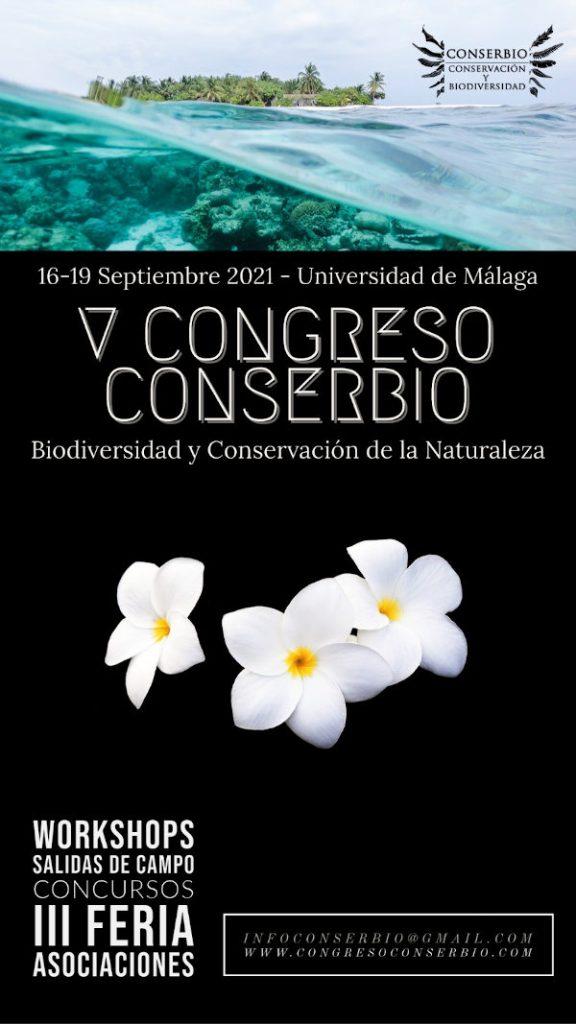 Cartel Congreso Conserbio Málaga 2021
